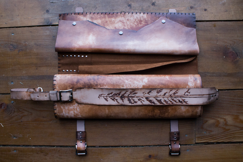 sequoia and ravens leather chef knife roll-21