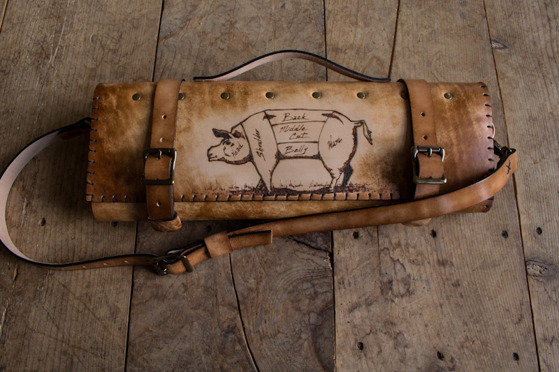 The Butcher's Knife Roll