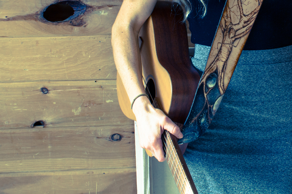 Celestial Tree Leather Guitar Strap-10.jpg