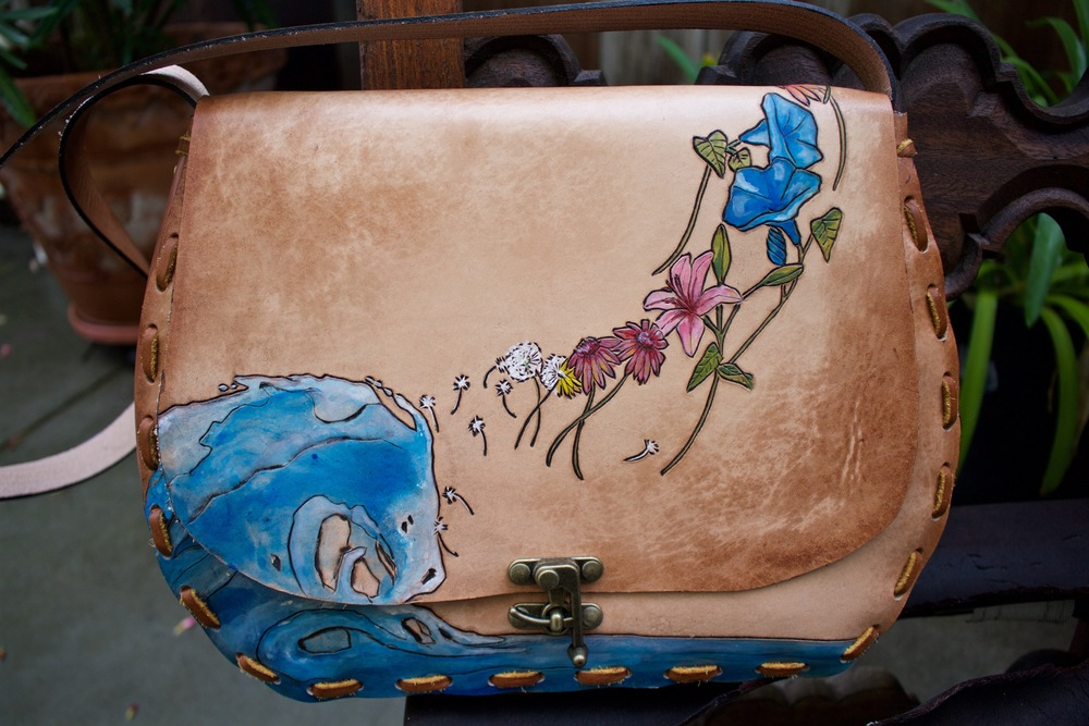 water to flowers leather purse 5.jpg