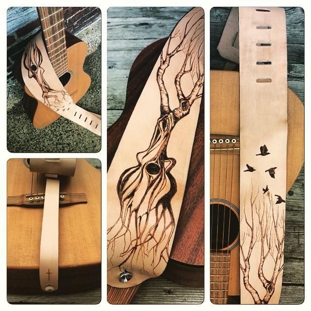 Guitar in Root Guitar Strap Linny Kenney.jpg