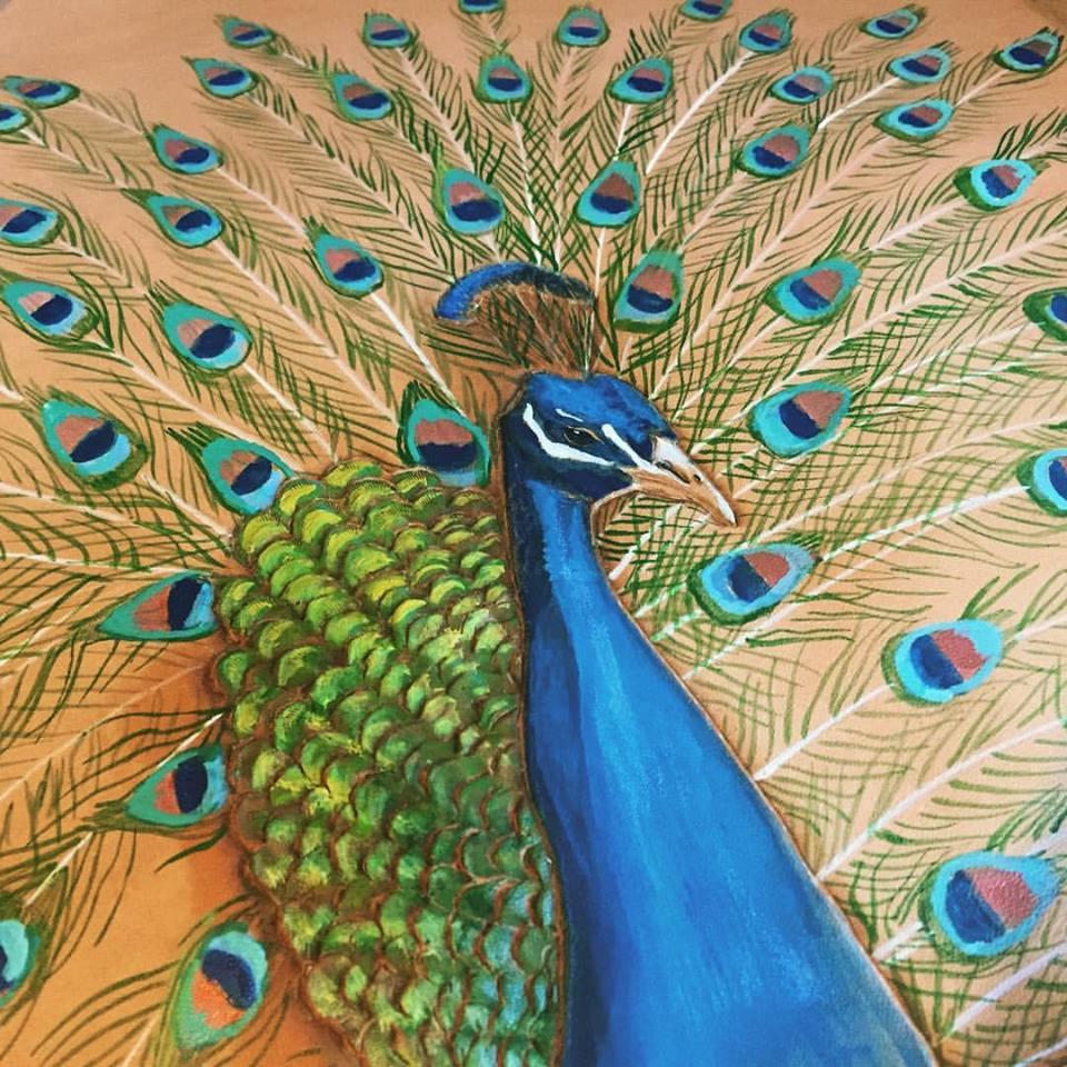 peacock bag Linny Kenney.jpg