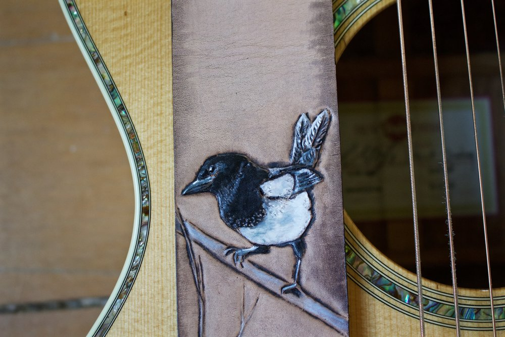 Eurasian Magpie guitar strap 2.jpg