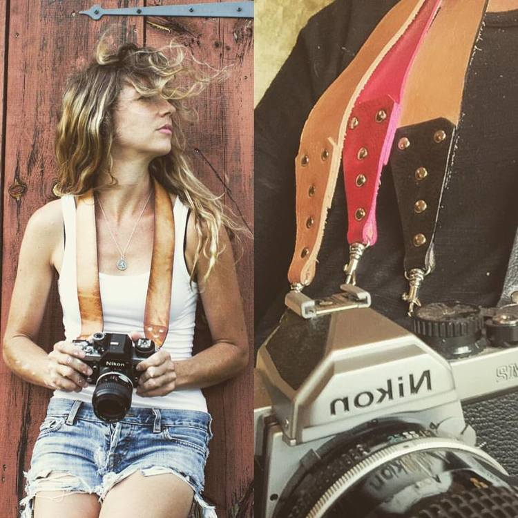 Natural Leather Camera Straps