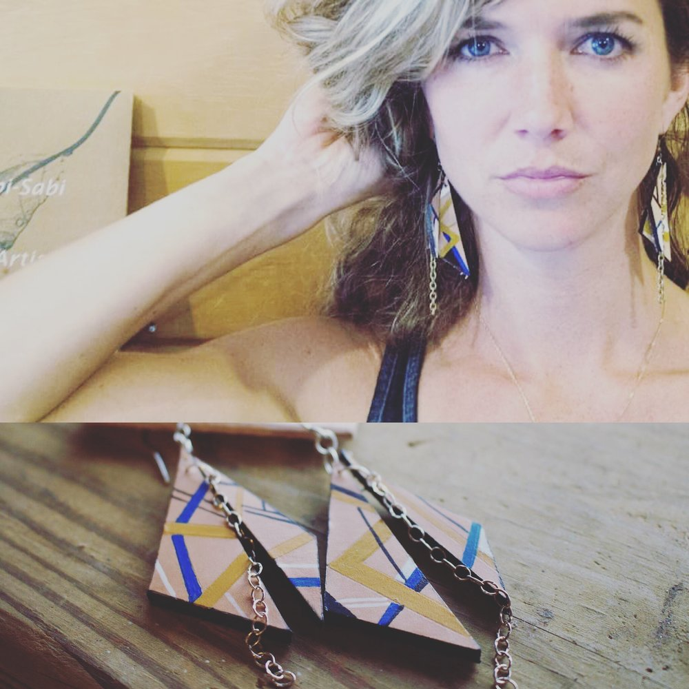 LK Leather Earrings