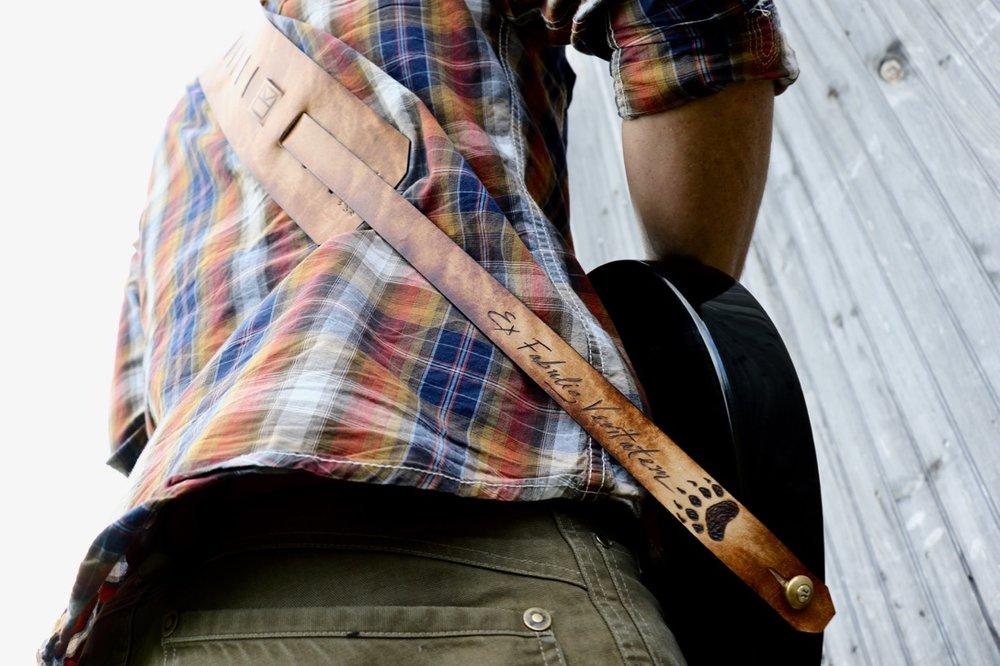 whale guitar strap
