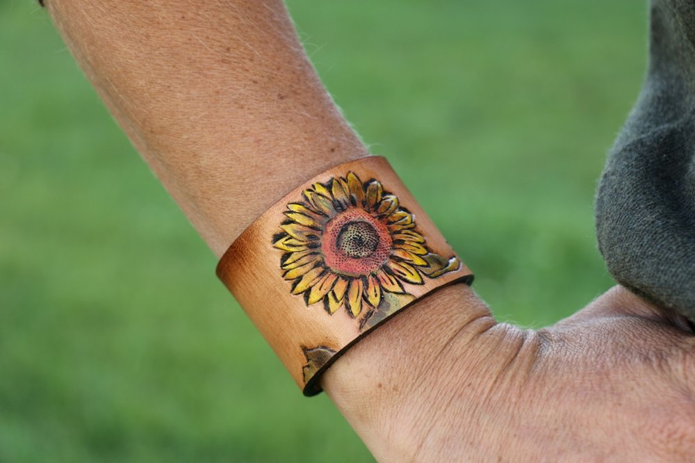 Sunflower Cuff