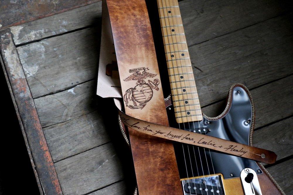 Marine Corps Guitar Strap