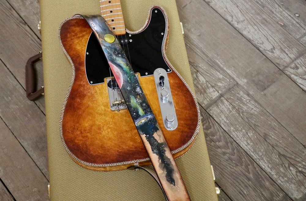 Celestial Guitar Strap