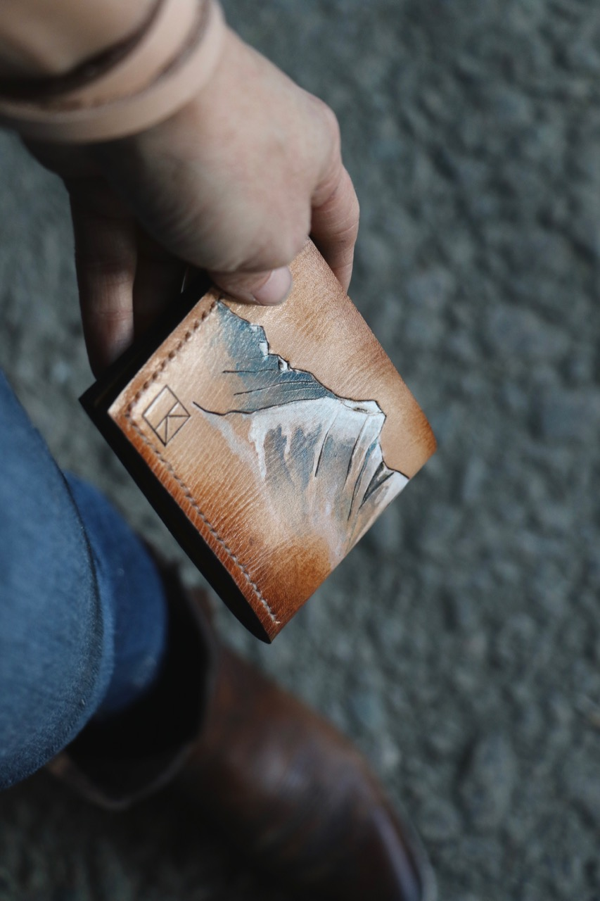 mountain wallet