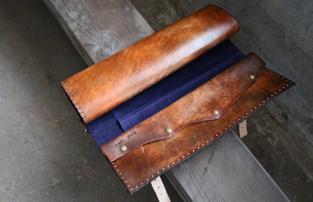 Forest Knife Roll