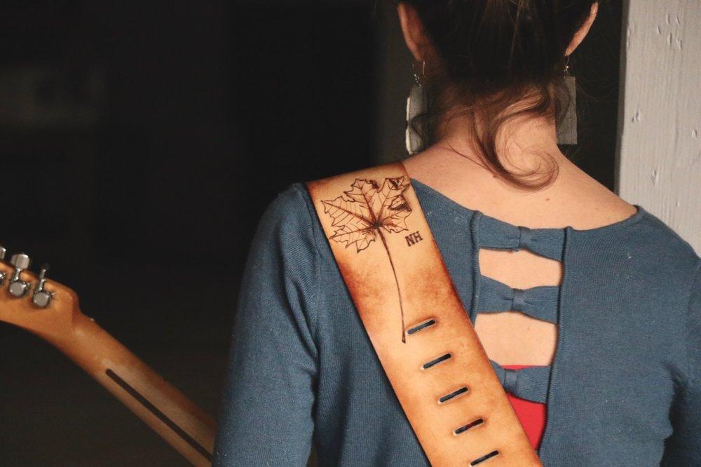 NH Maple leaf guitar strap 3.jpg