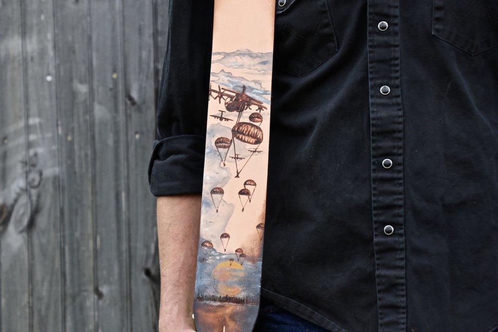 Paratrooper guitar strap