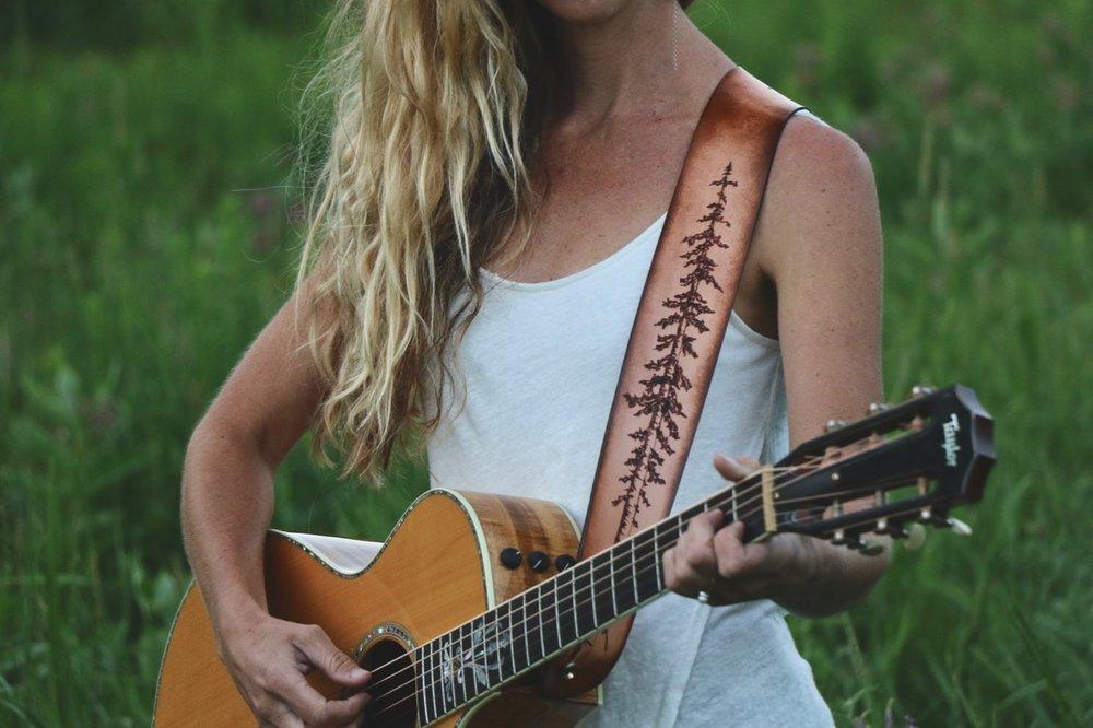 Tree Guitar Strap