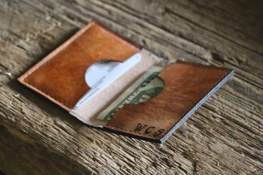 Card Wallet by Linny Kenney