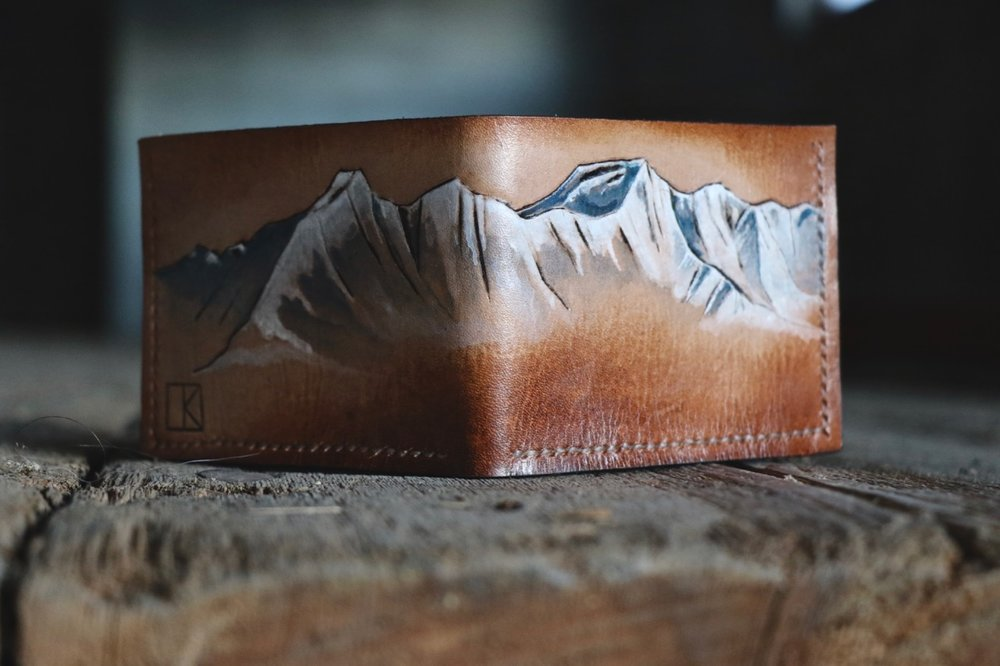 Mountain Wallet by Linny Kenney