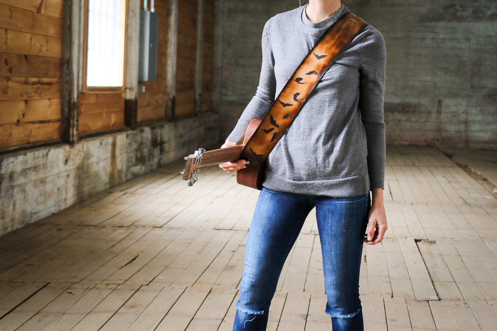 bat guitar strap