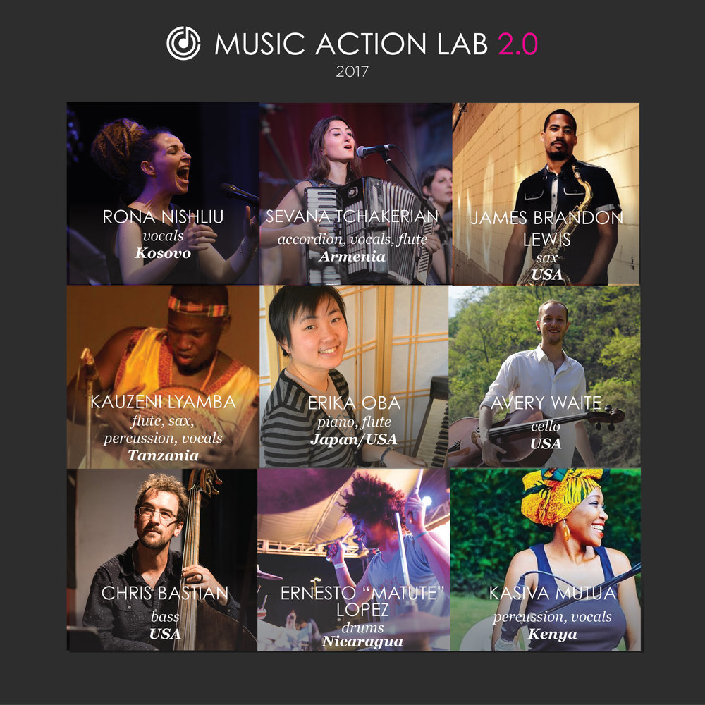 Giant Steps Presents The Music Action Collective — ASHKENAZ