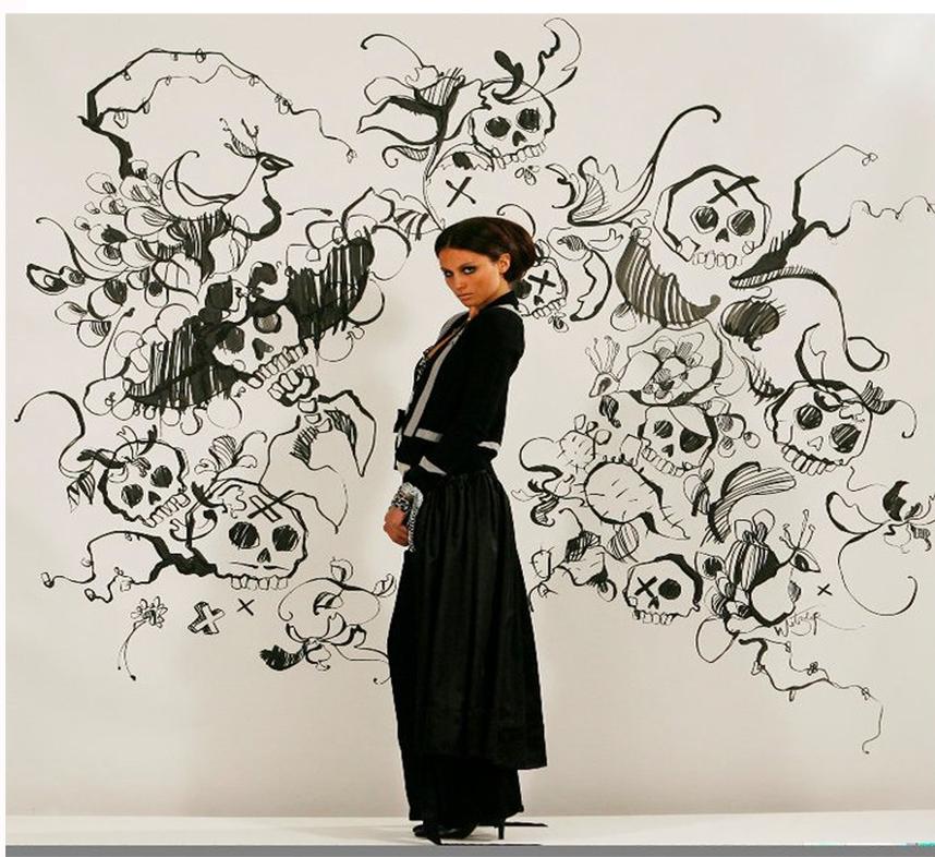 Marnie Skillings  Mural Rebecca Wetzler