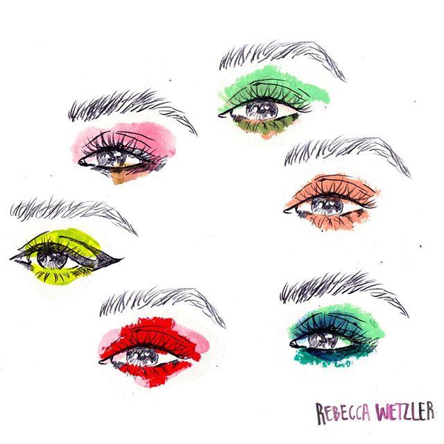 Eye-looks inspired by @katiejanehughes ✨👀 . . . #fashionillustrationoftheday #artist #makeup #makeupartist #makeuptutorial #mua #beauty #mural #streetart #art #graffiti #murals #urbanart #muralart #graffitiart #murales #streetarteverywhere #wallart #muralist #artist #muralpainting #street #muralartist #photography #rebeccawetzler