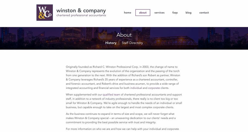 Winston & Company -