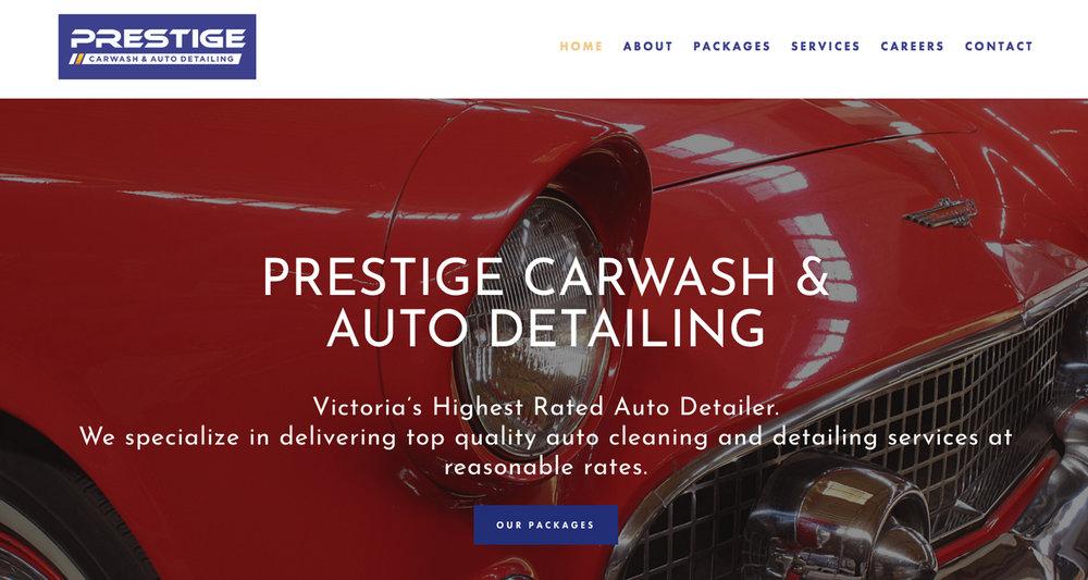 Prestige Carwash & Auto Detailing -