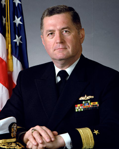 Rear Admiral, James J. Carey