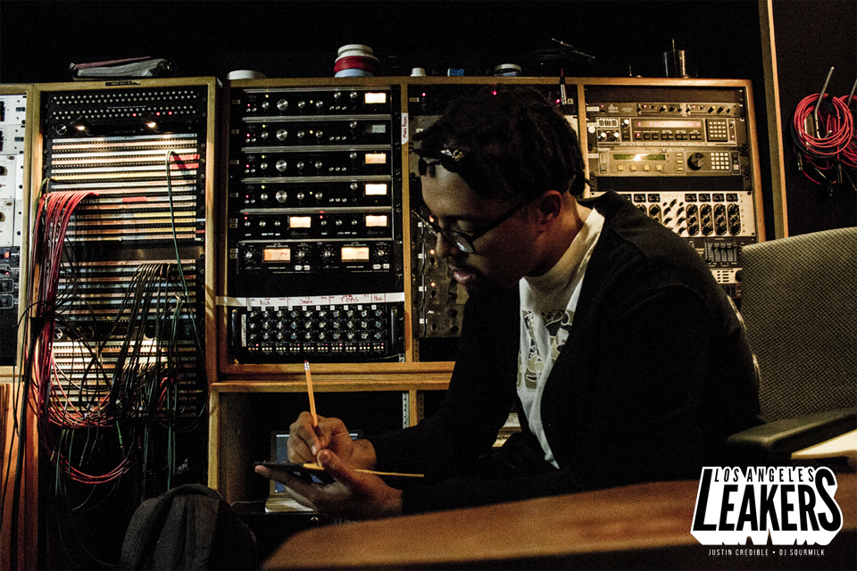Jallal studio Los Angeles Leakers DJ Sourmilk Justin Credible.jpg