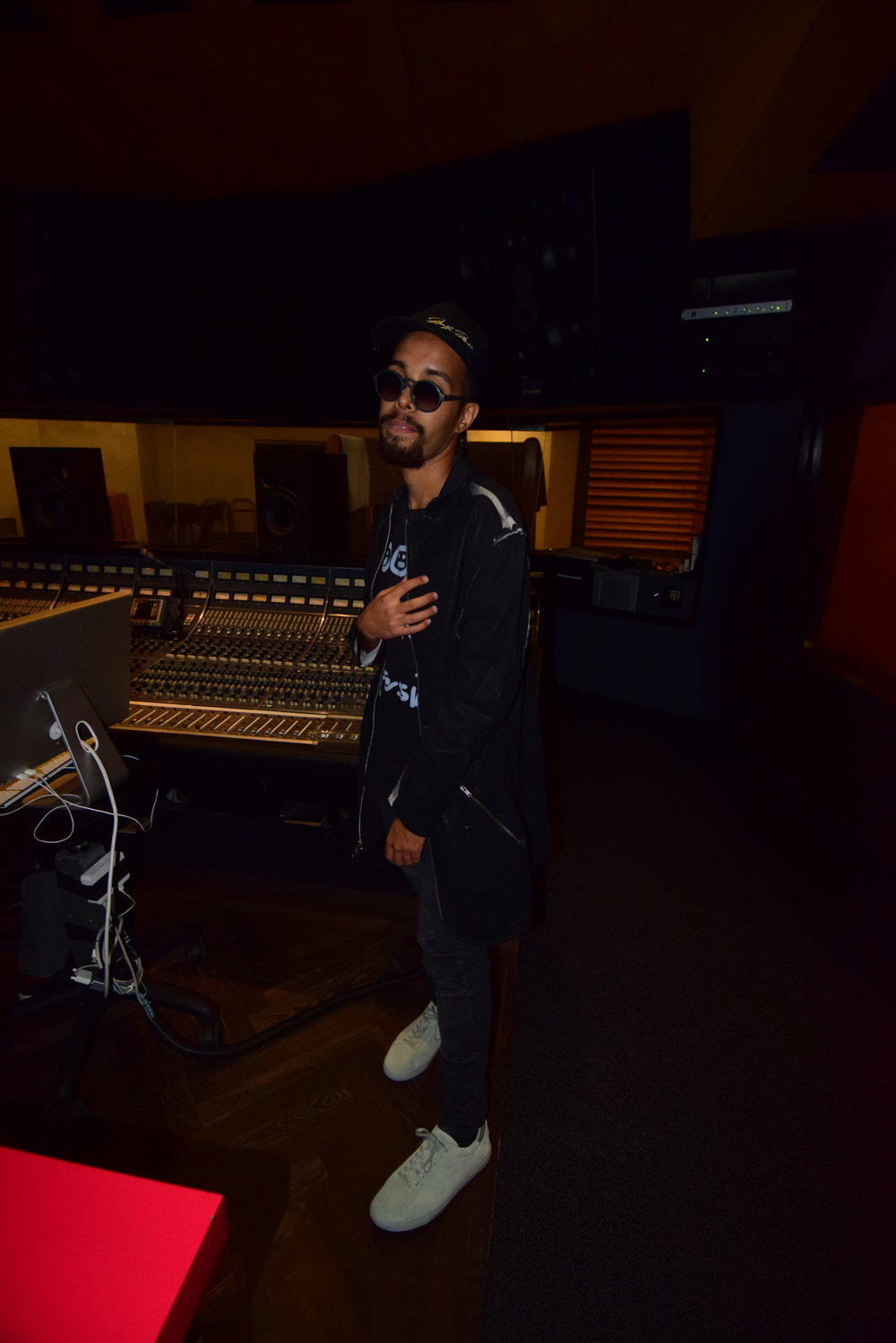 Jallal in Studio.JPG