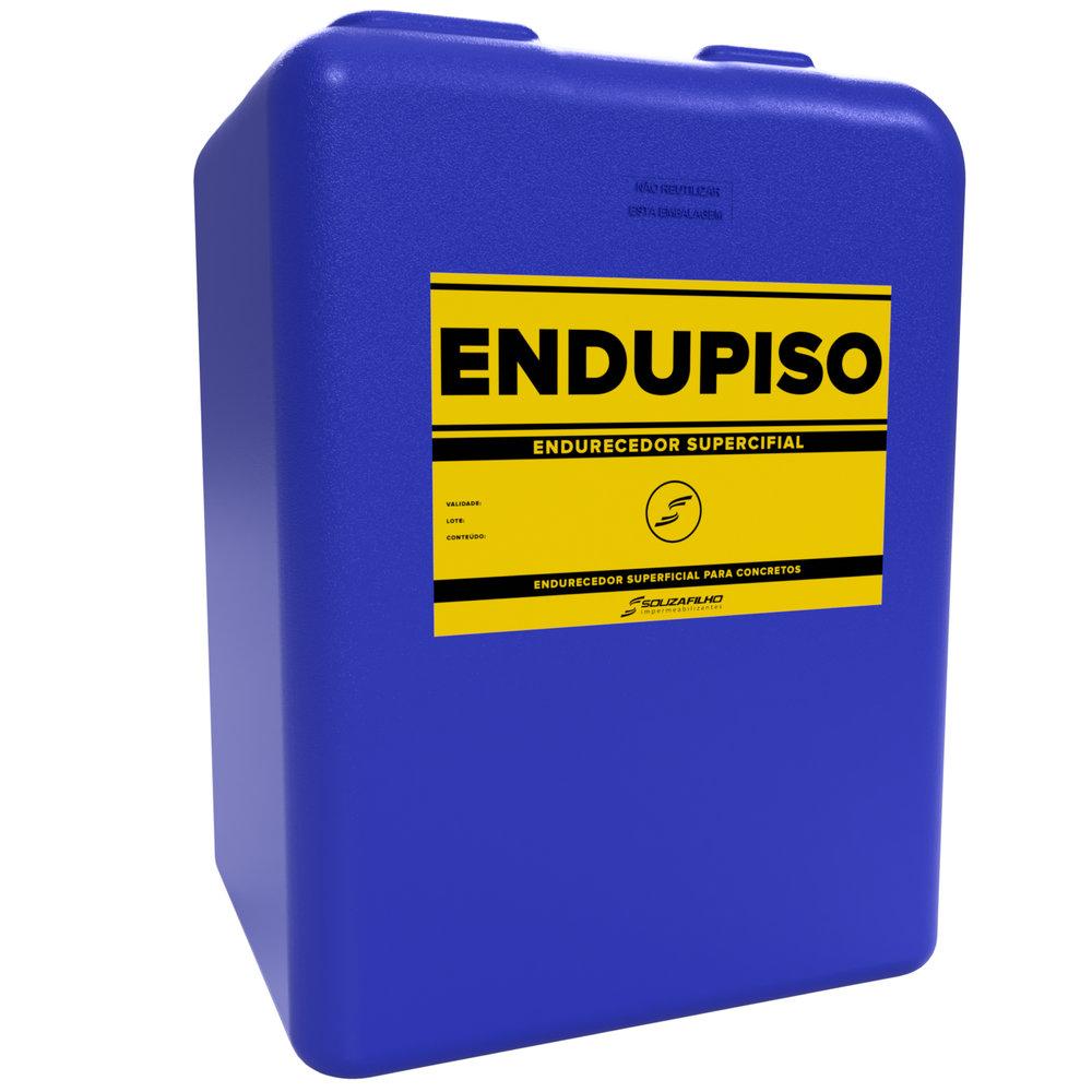 ENDUPISO - Endurecedor superficial para piso de concreto.   Embalagem    :     25 Litros   Ideal para: Piso de concreto polido.   Rendimento: 1 litro para 6 a 10  m  ².