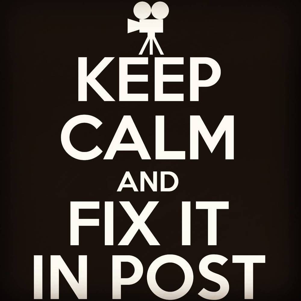 Poor audio quality? Low light recording? Shaky shots? Or maybe you want to take some old footage and revitalize it for a new purpose. SFP will assess your #postproduction woes and do what we can to fix it. Check out  www.smallfishproductions.com/services  got a full list of our current offerings. #filmmakerproblems #keepcalmandfixitinpost