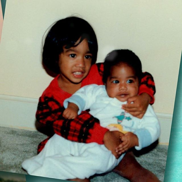This #tbt is super special bc I'm hollering at my one and only little big sis. I've known you all my life - I was the bratty little brother to your responsible older sister. We've grown up together, experienced a lot of life together. I've tried to learn from your naturally empathetic ways to help soften my sometimes harsh approach to things (I'm still learning) We don't see eye to eye on a lot, but at the core you'll always be my sister. As you now move to your next big life step 💍 I'll look back and be so thankful that I have so many great memories with you. I'm wishing you nothing but love and happiness for your future. #siblinglove #selfiequeens