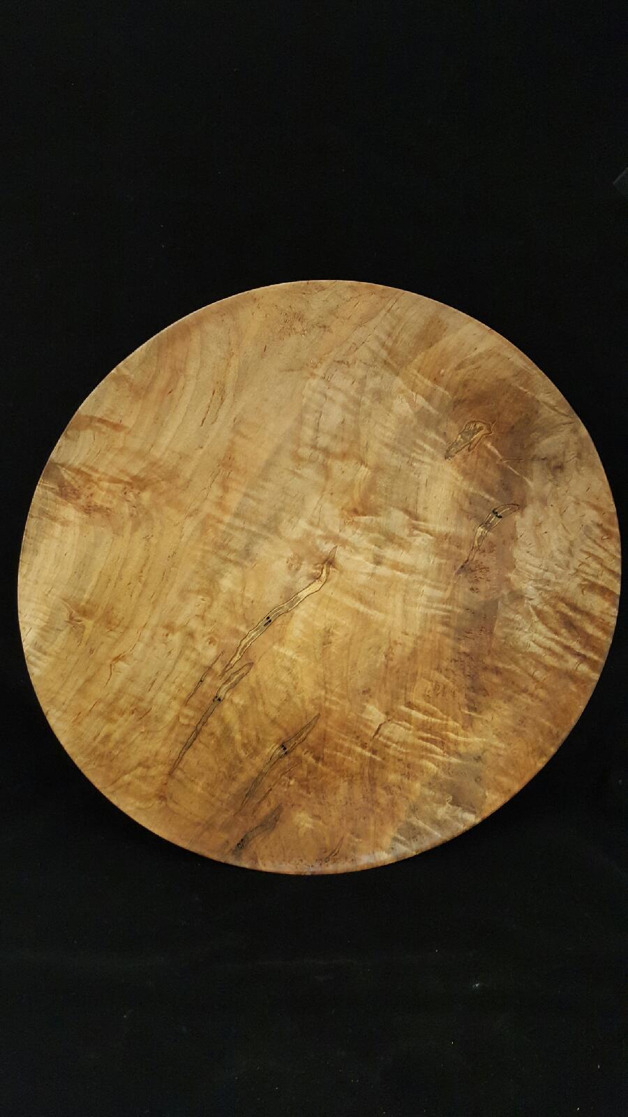 18 inch Maple Platter