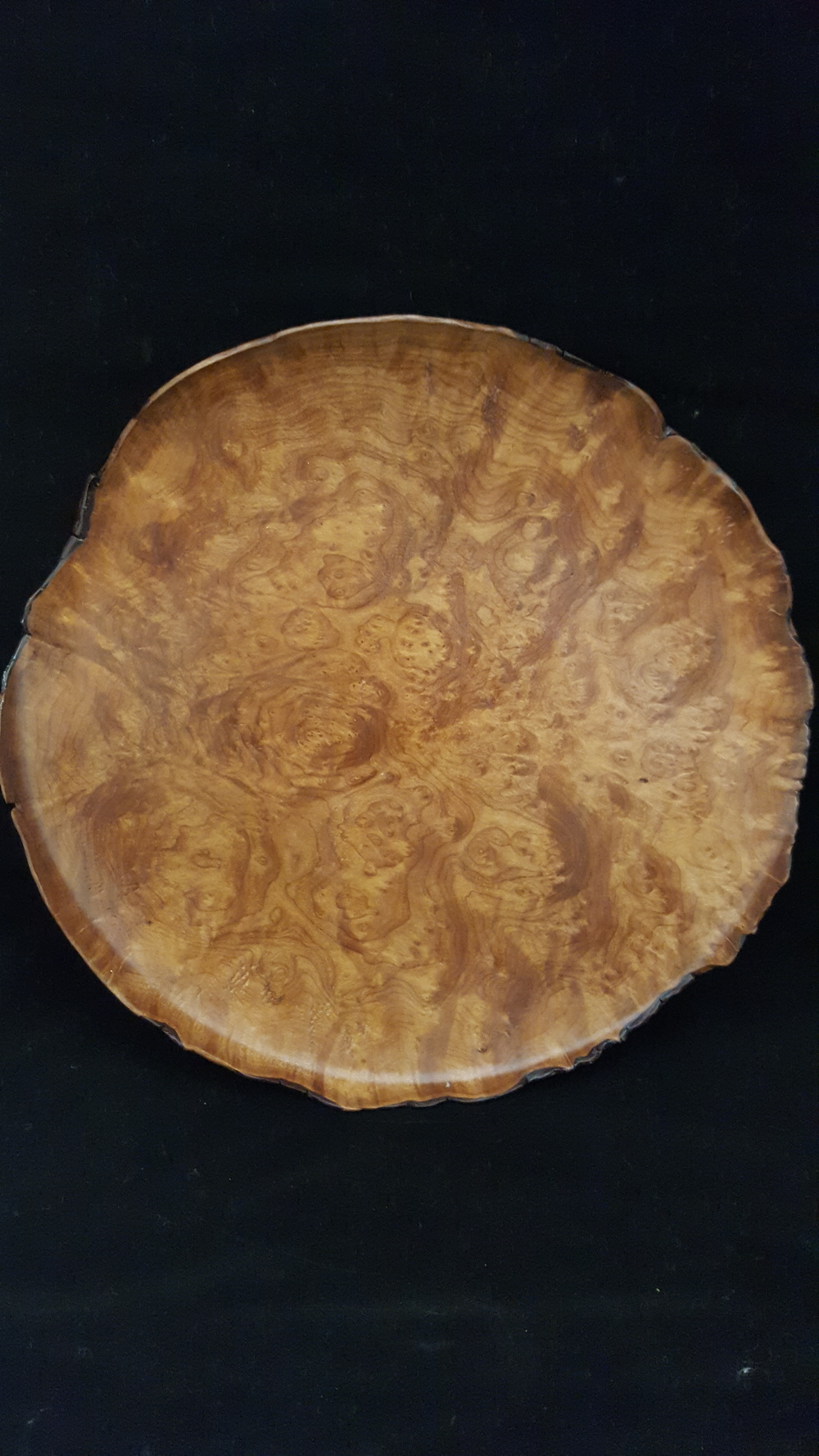 Madrone Burl Platter