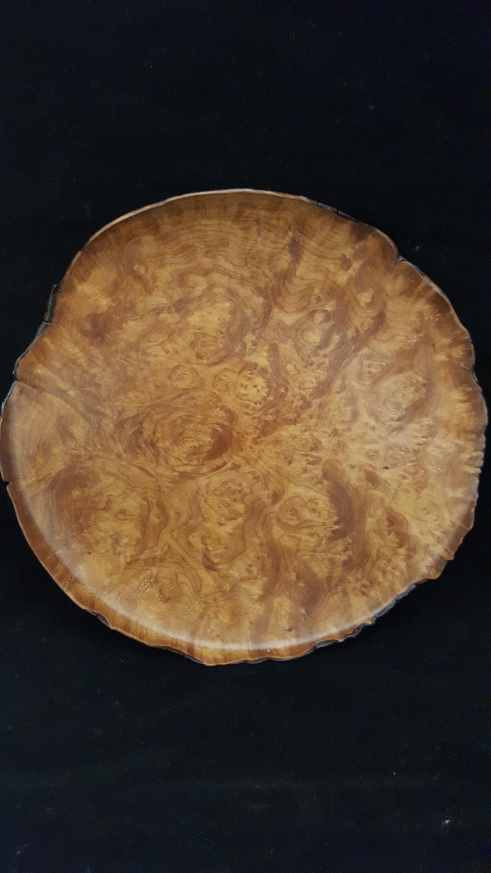 Madrone Burl Platter