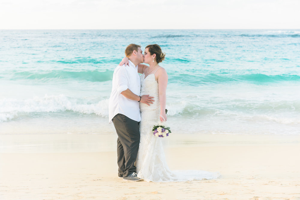 Nicole & Steven - We used Steph for our destination wedding to Punta Cana, DR in May 2017. I had booked with her over a year prior to our wedding and Steph was very knowledgeable and approachable while I was planning. We recently received our wedding photos and we're so thrilled! Steph was able to capture our day from start to finish and took many great candid photos that we love! My husband and I both highly recommend Steph!