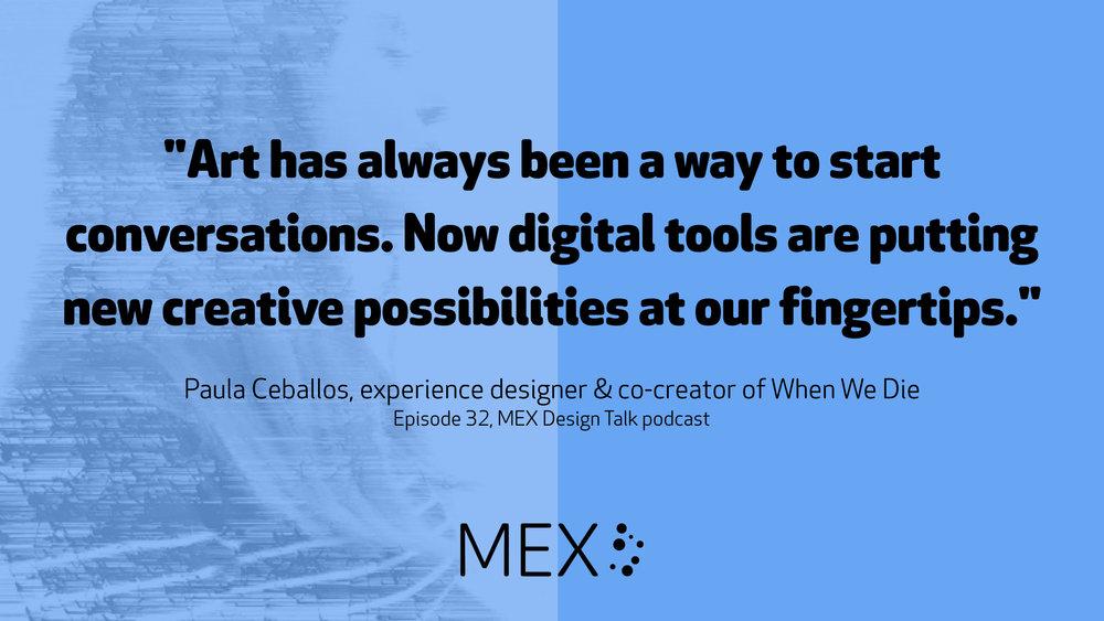 MEX Design Talk