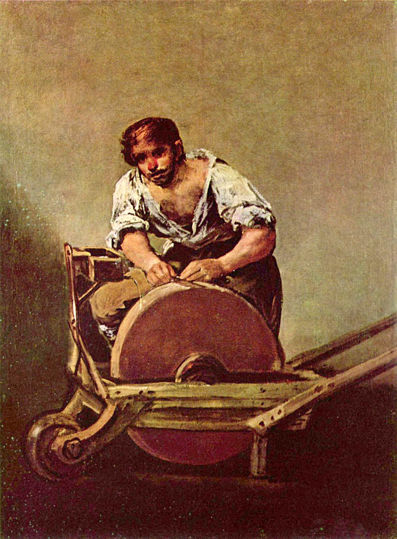 Francisco Goya, Der Schleifer (1790)