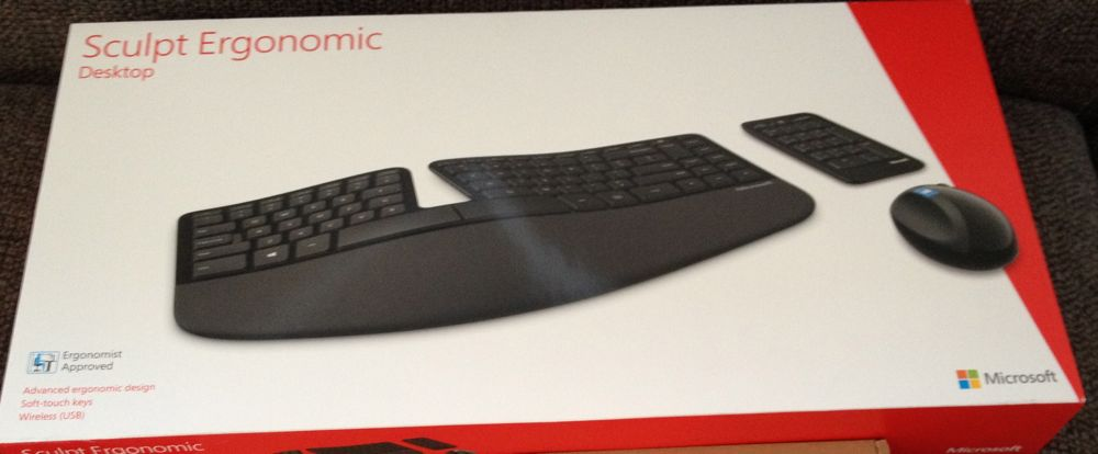 Microsoft Sculpt Ergonomic photo