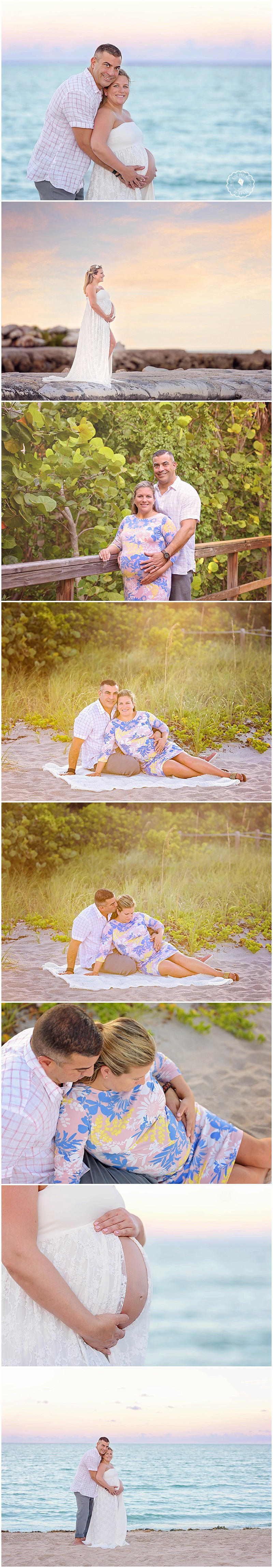 Beach Maternity Session Boca Raton FL. Maternity Photography. Boca Raton Newborn Photographer, Coral Springs, Delray, Parkland, Boynton Beach, Wellington Newborn Photographer.