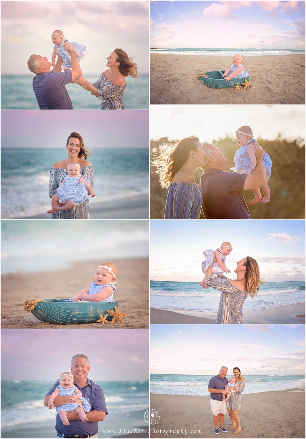 Baby Beach Session, Newborn Photographer Boca Raton, Coral Springs, Parkland, Delray, Boynton Beach