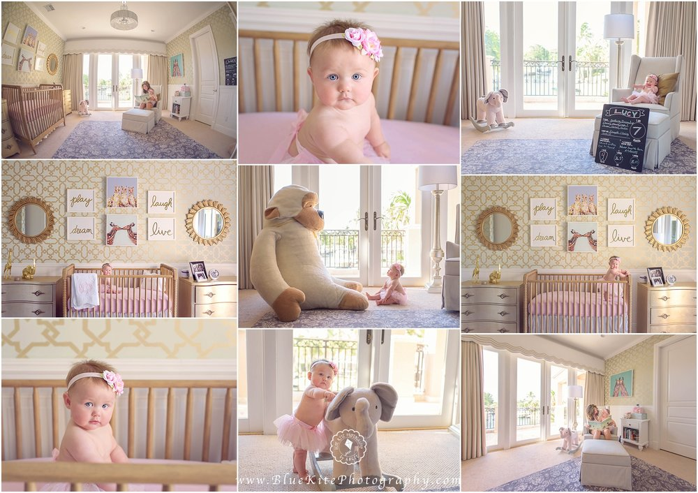 Baby Milestone Session, Newborn Photographer Boca Raton, Coral Springs, Parkland, Delray, Boynton Beach