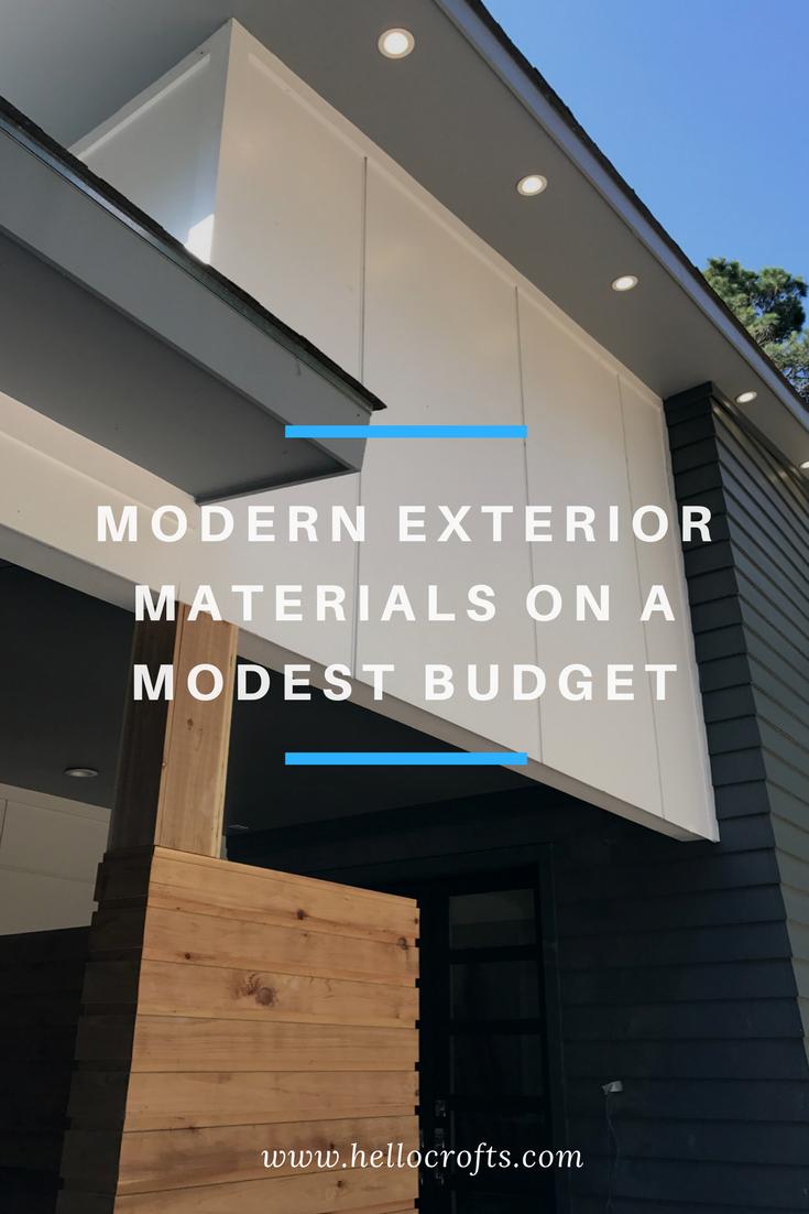 Modern Exterior Materials on a Modest Budget.png