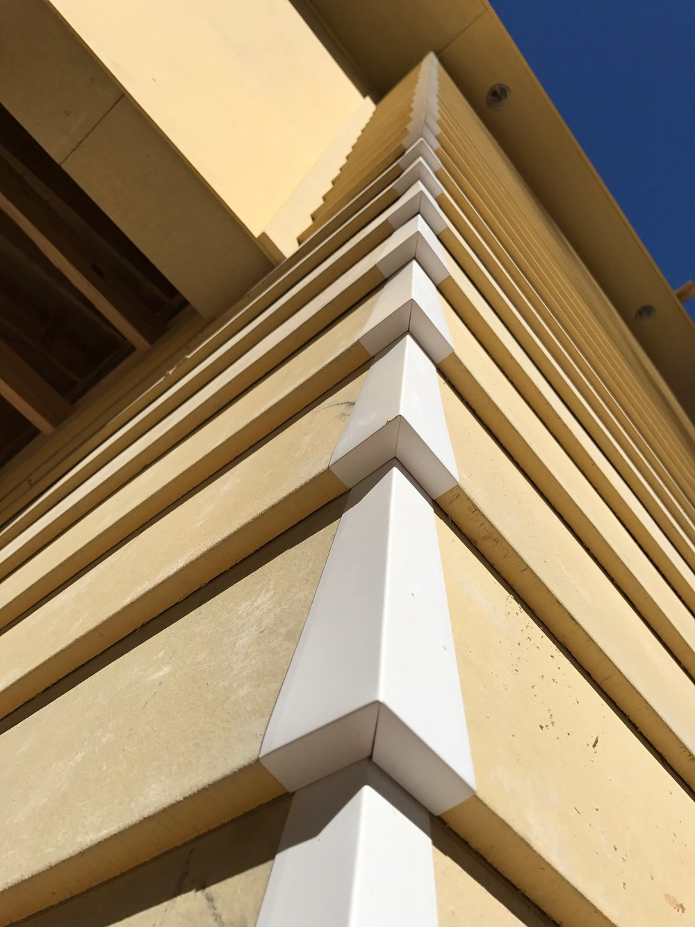 Modern Materials Fiber Cement Lap Siding Caps