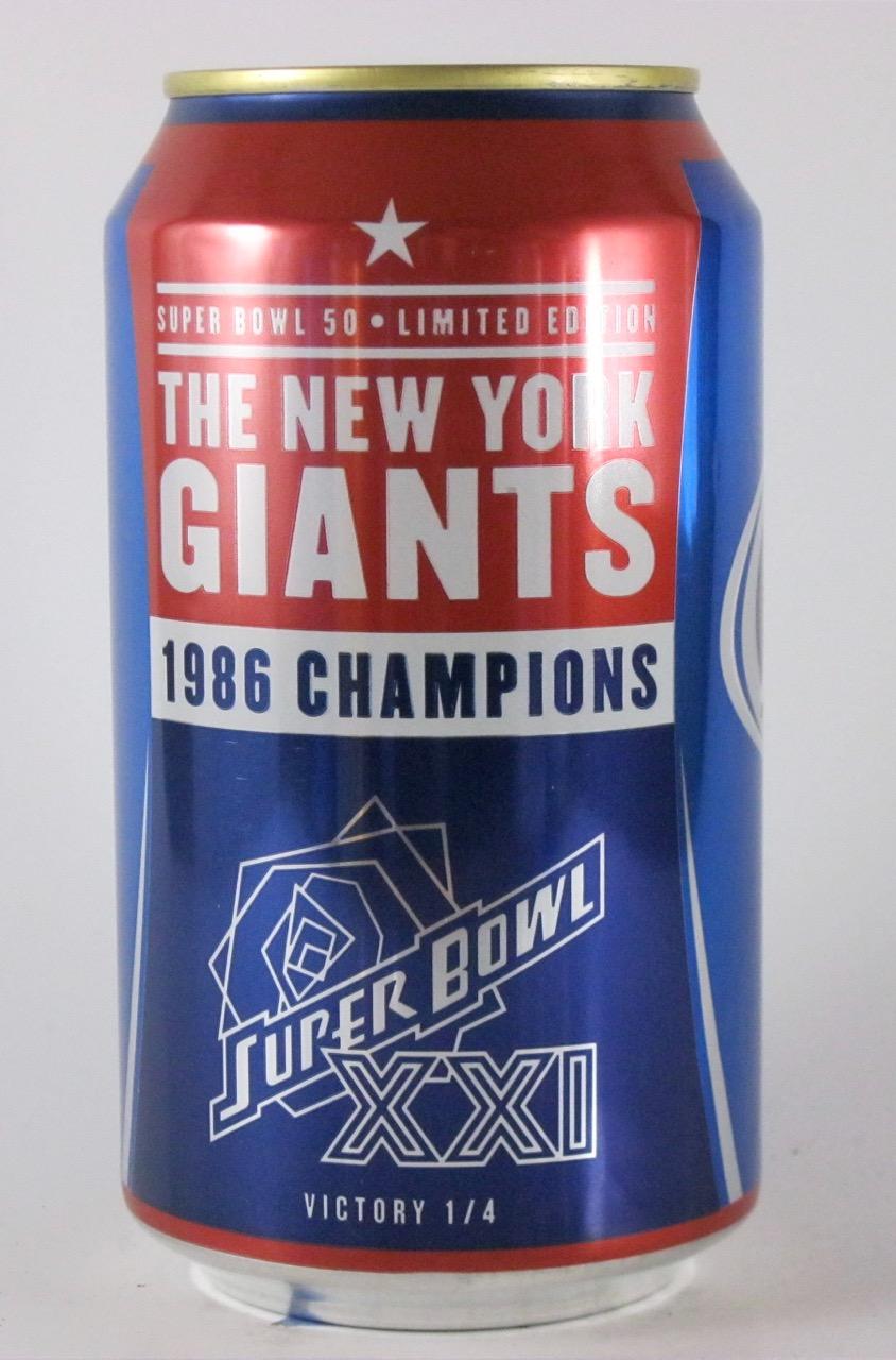 Anheuser Busch - Giants 1986