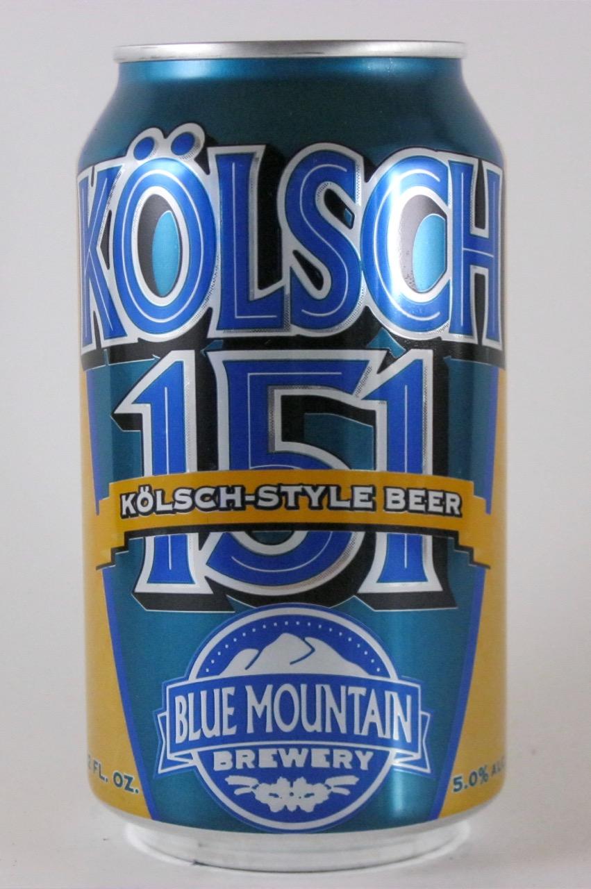 Blue Mountain - Kölsch 151