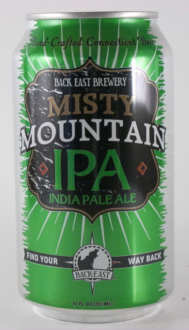 Back East - Misty Mountain IPA