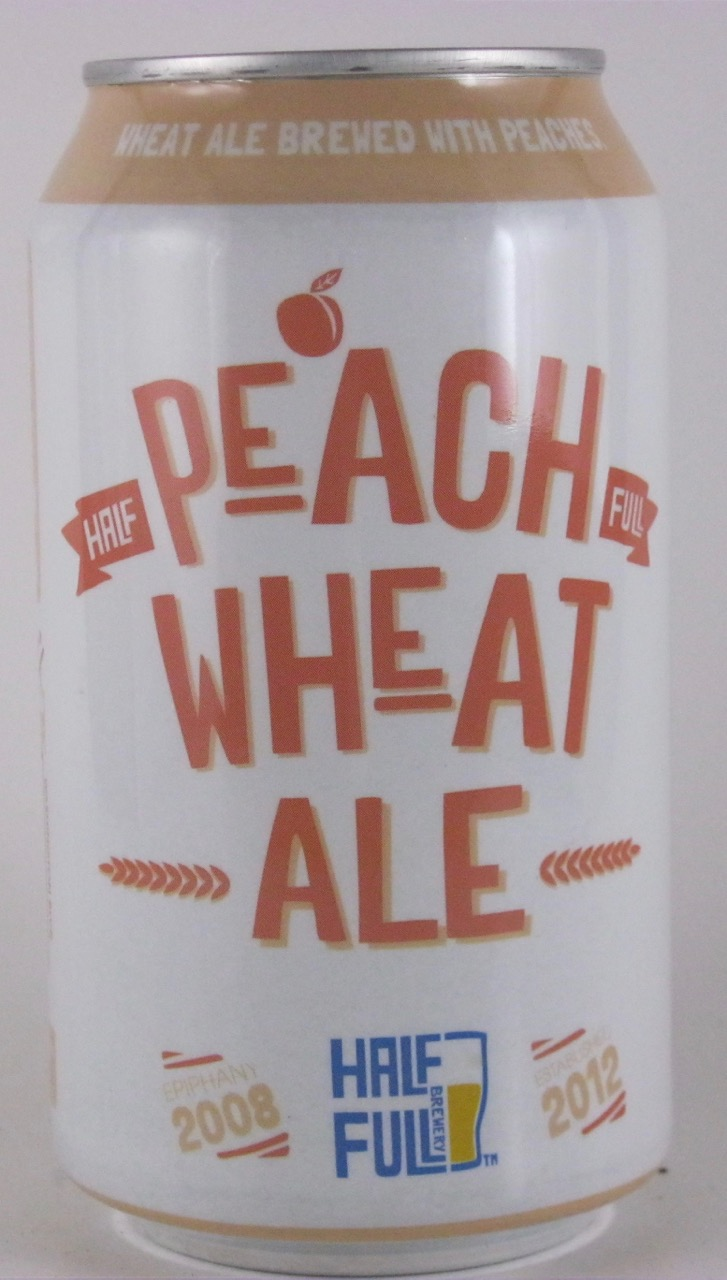 Half Full - Peach Wheat Ale