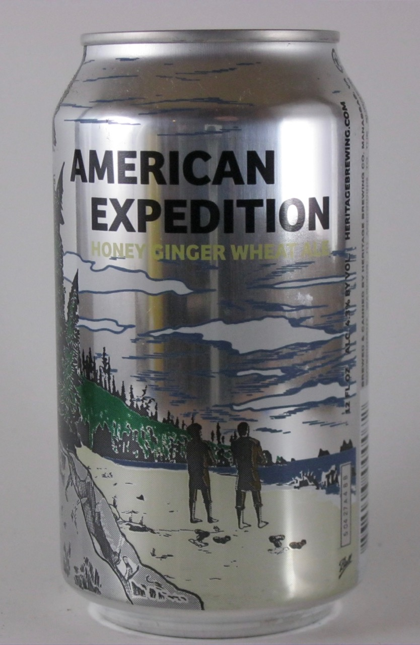 Heritage - American Expedition Honey Ginger Wheat Beer