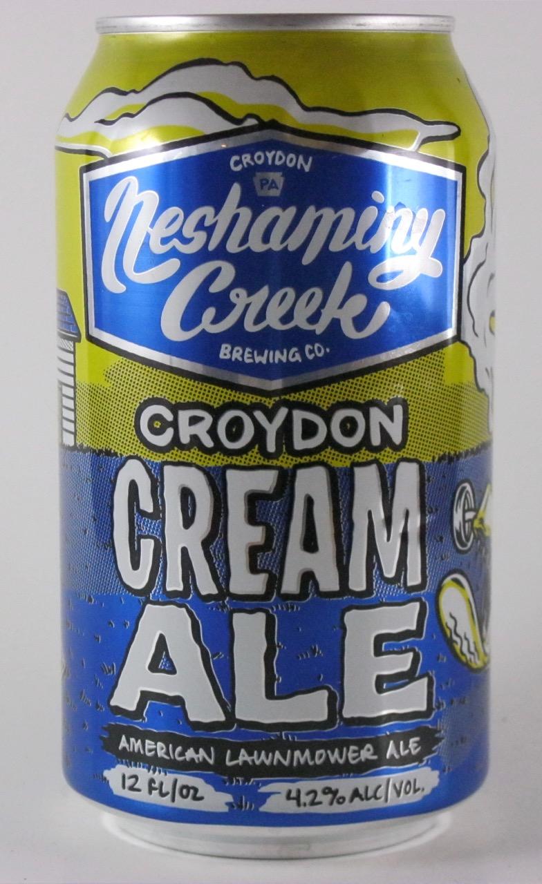 Neshaminy Creek - Croydon Cream Ale